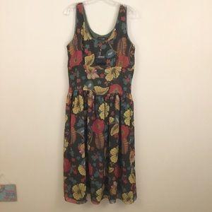NEW Philosophy Woman Floral Sleeveless Dress XL